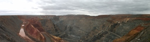 Superpit view of Karlgoorlie mine