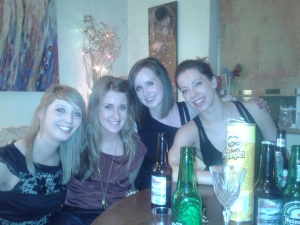 Girls reunited for Stephen's night!!