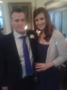 Me and Phil @ the wedding!