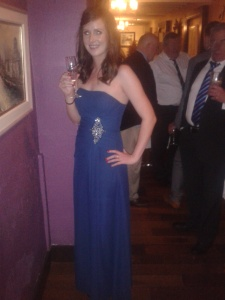 Me as bridesmaid!