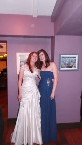 Rebecca and me!