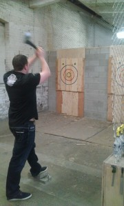 Axe throwing - its how Canadians roll!