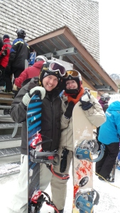 If only we looked this cool while we were actually snowboarding!