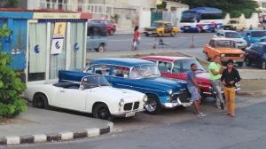 Typical street corner in Havana